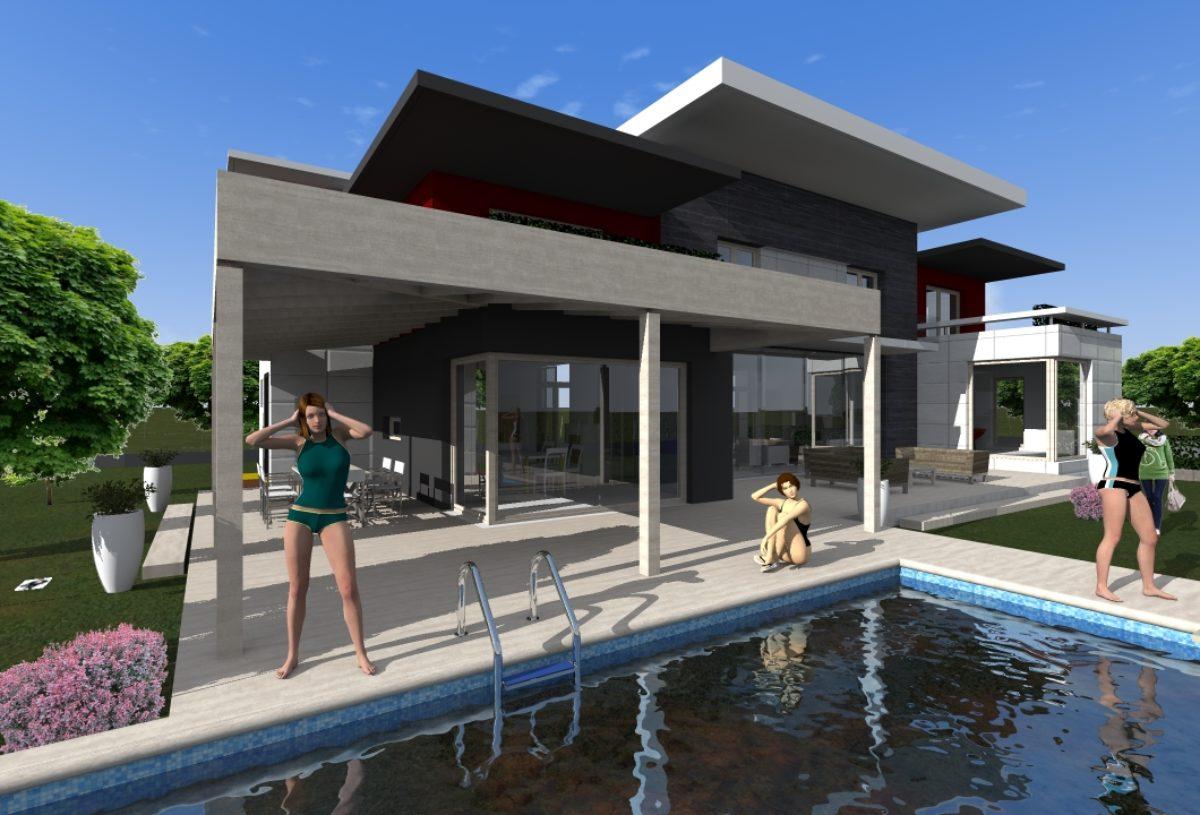 Favorito Villa | O+I Architetti | Studio Architetti Enzo Orlacchio e Katia  CM01